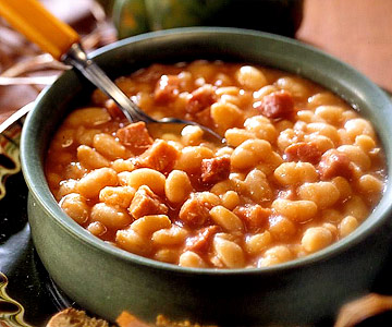 Cheap healthy meals for large families ham and beans
