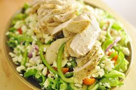 Cheap healthy meals for large families lemon chicken greek salad