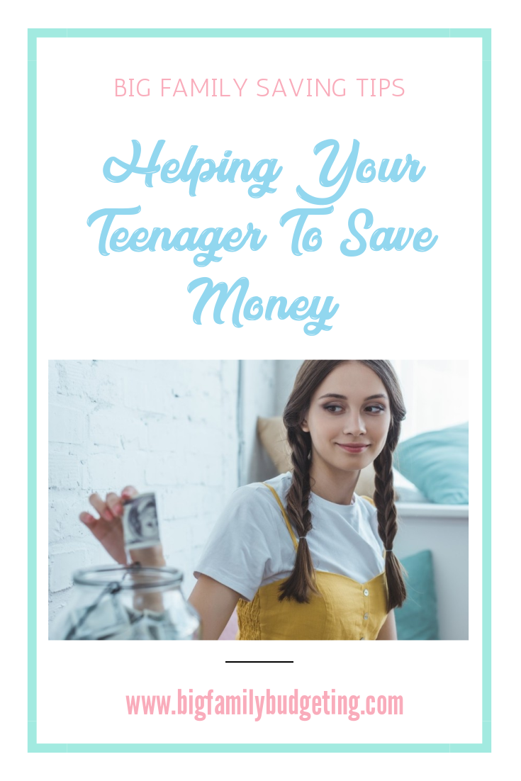 teaching teenagers how to save money will help them in life and may avoid them coming to the bank of mum and dad